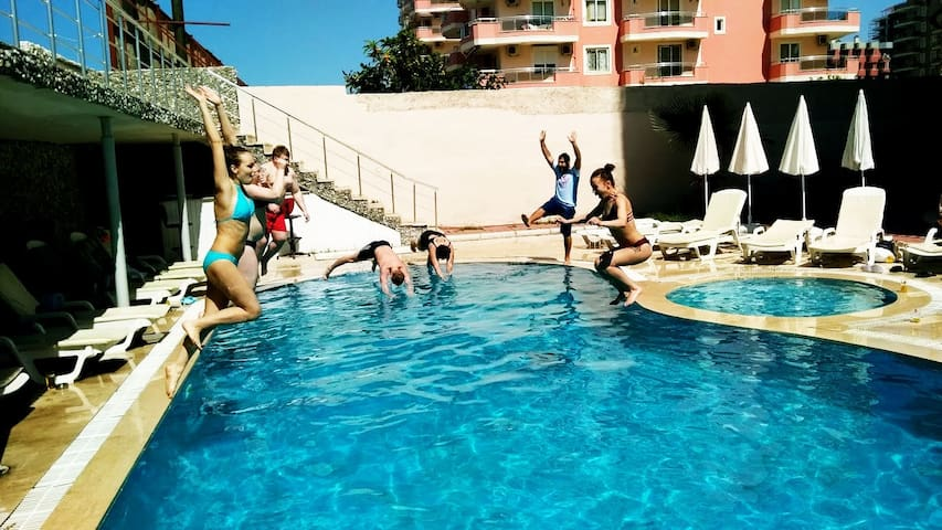 MILANO BEACH FAMILY HOTEL(TREBLE ROOM) - Alanya - Pousada