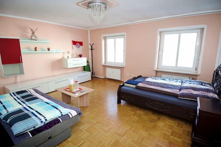Big room near English Garden 10mins to city center - Munich - Leilighet