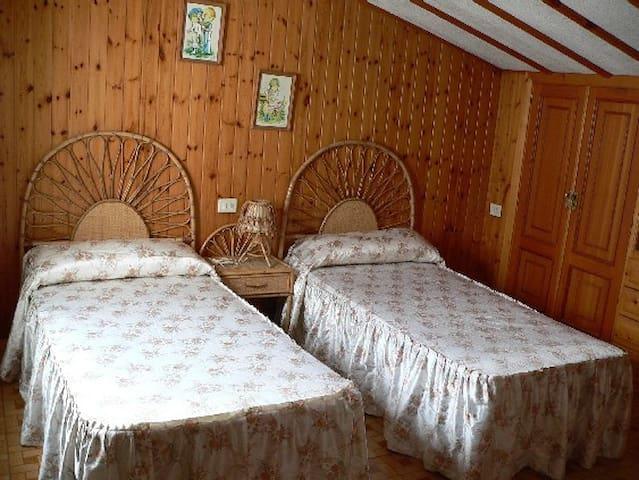 Buhardilla de dos habitaciones Portonovo Sanxenxo - Portonovo - Apartament