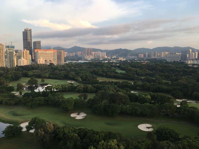 高尔夫球场边的家+趣园 - Shenzhen - Leilighet