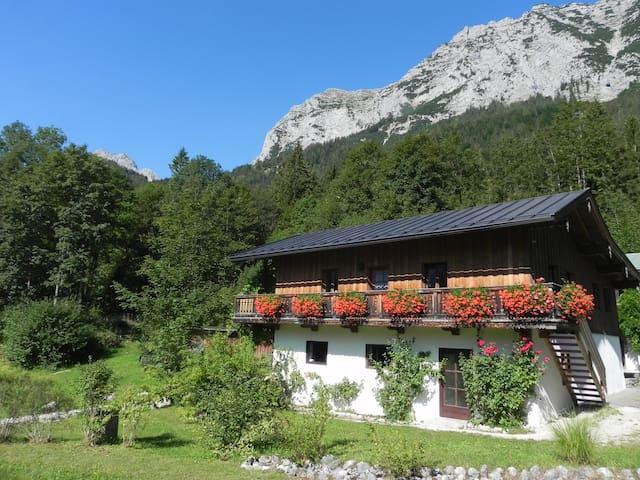 Rustikales Haus am Bergsee - Ramsau bei Berchtesgaden - Casa