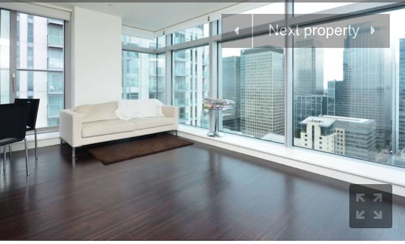 36th floor stunning view of canary wharf - Londres - Appartement
