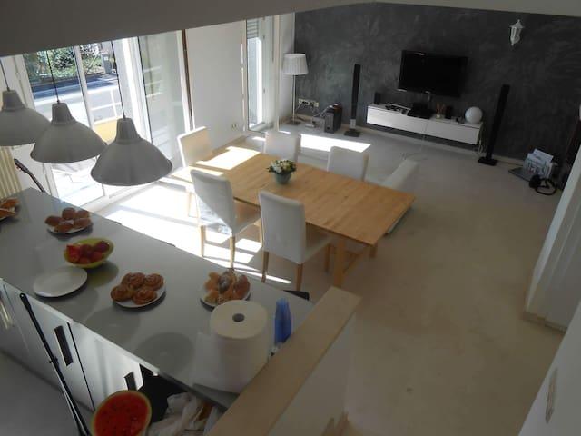 Modern Duplex /Terrace/ parking/ close to Cente - Hesperange - Appartement