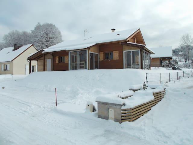 chambres d chalet/bois skieur/fond - Morbier - Chalet