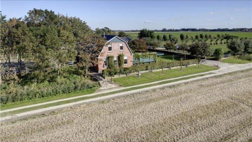 Vakantiewoning Noord Groningen - Usquert - Hus