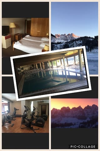 Ski in and out in Champoussin - Val-d'Illiez - 家庭式旅館