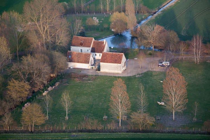 Partagez un séjour au moulin - Varennes - Huis