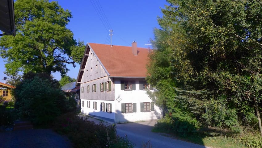 Geheimtipp mit antikem Charme im Allgäu - Obergünzburg - Hus