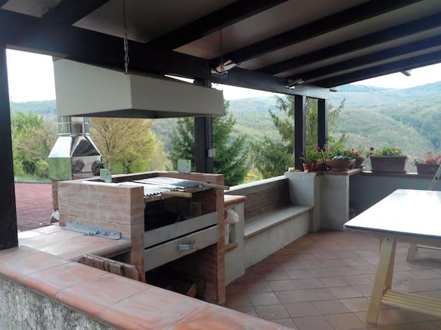 Villa Gemma - San Gregorio Magno - Willa