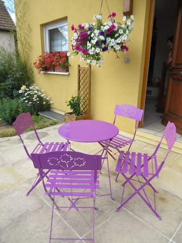 Chambre Maël à l'ancien moulin - Saint-Maurice - Bed & Breakfast
