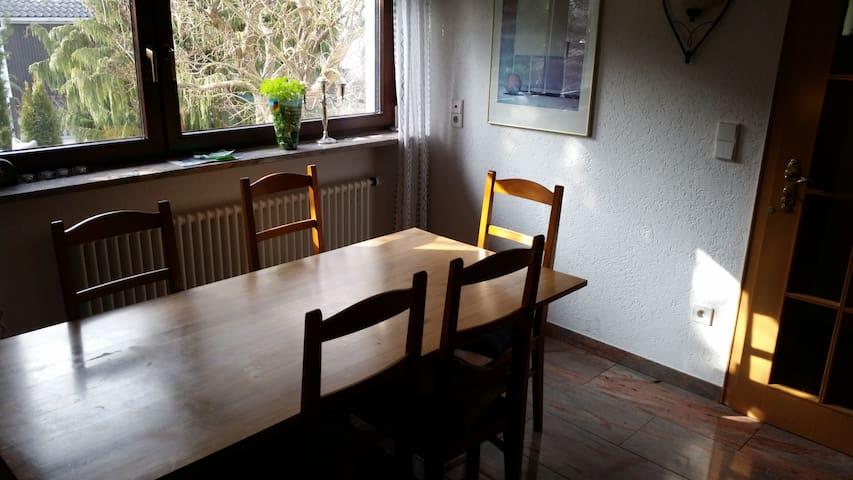 Gemütliches Zimmer in Einfamililienhaus mit Garten - Reichenau - Talo