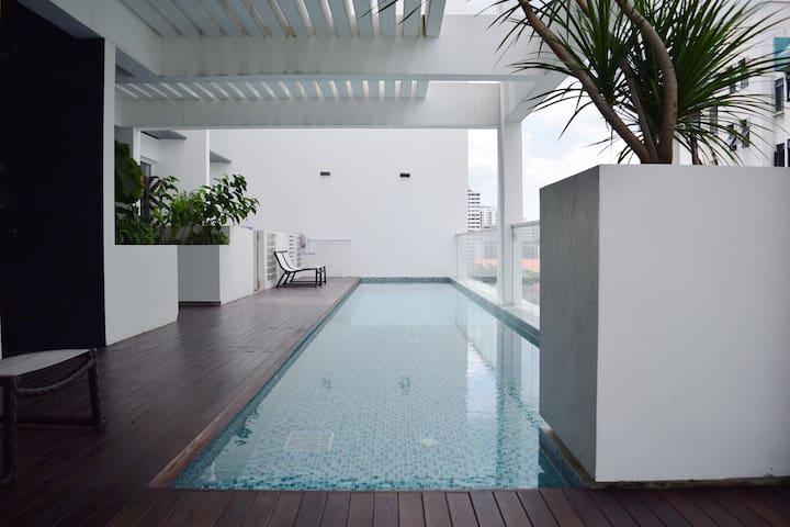 Cosy loft studio beside MRT - Singapour - Appartement
