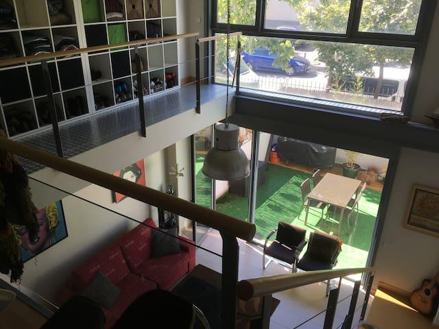 Espectacular LOFT en Ciudad de la Imagen con Wi-Fi - Alcorcón - Loft