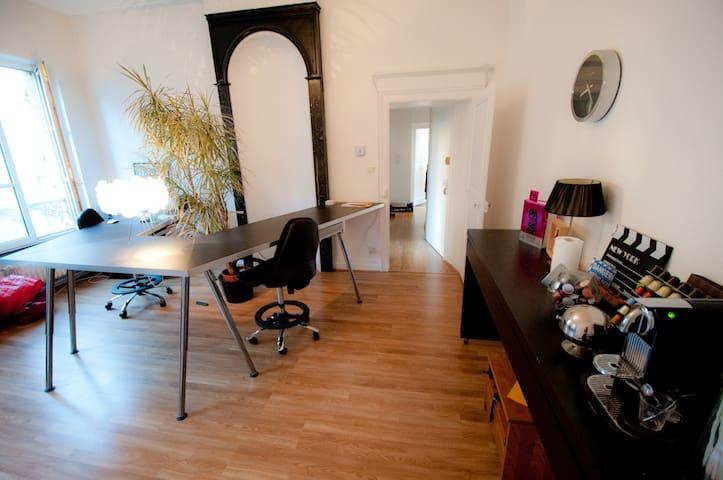Bel et grand appartement au coeur de Metz - Metz - Apartament