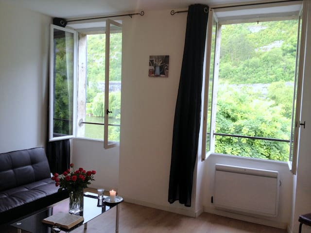 Appartment exceptional view on the river and hills - Cahors - Appartement