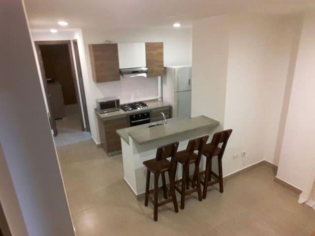 Apartamento NUEVO - Mejor zona BAQ - Norte Centro Historico - Huoneisto
