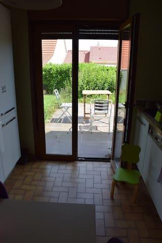 chambre dans maison avec jardin et proche ESSTIN - Heillecourt - Apartemen