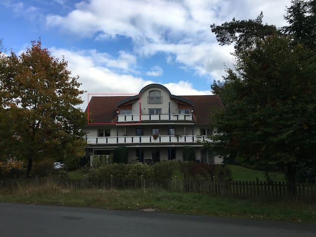 Ferienwohnung 85 m² mit Balkon - Neuenkirchen - Appartement