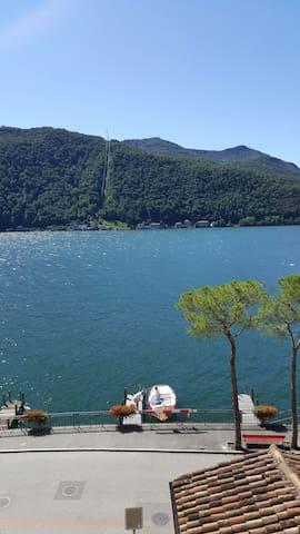 Full Lago di Lugano View Apartment - Morcote - Leilighet