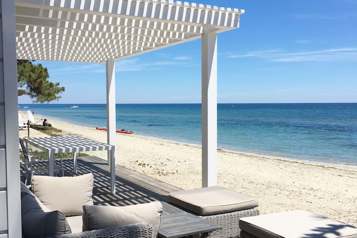 Front Sea Bungalow, directly on the beach-VIGNALE- - Ghisonaccia - Bungalow