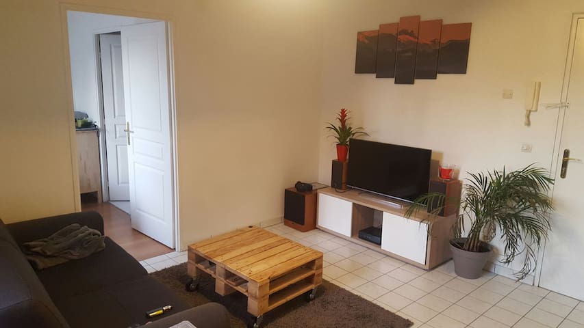 Charmant appartement plein centre Orgeval - Orgeval - Leilighet