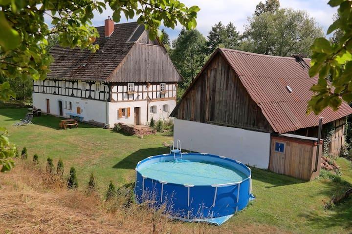 farmhouse rooms - Wlen - Huis