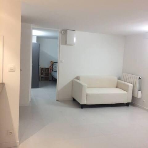 Studio 27m2 with two room at Antony, France - Antony - 平房