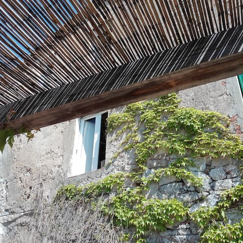 WIDE HOUSE BETWEEN THE LUCCA'S HILLS AND  THE SEA - Fibbiano - Casa