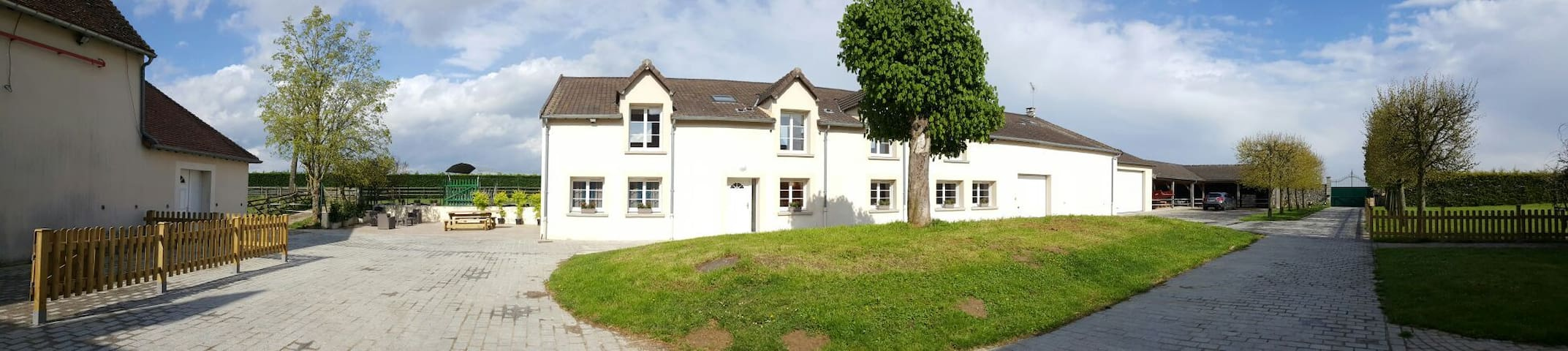 maison 400m2 à la campagne avec spa - Vieux-Champagne - Haus
