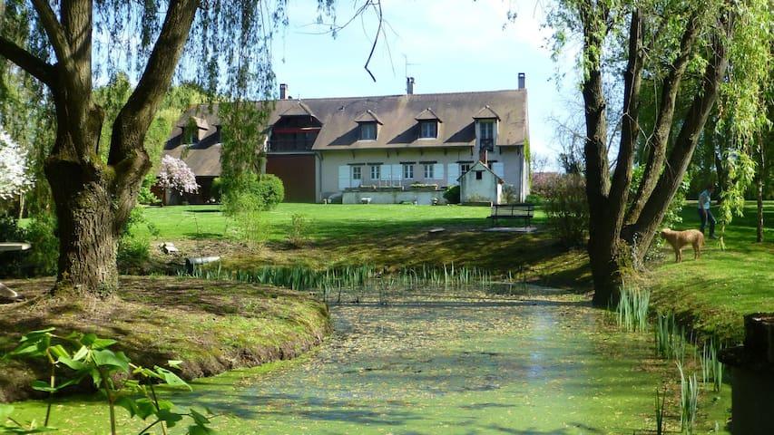 Burgund Ferienwohnung Nähe Beaune u Chalon s/Saône - Pontoux - Appartement