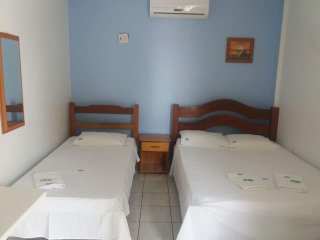 Hotel Aerovip - Várzea Grande - Oda + Kahvaltı