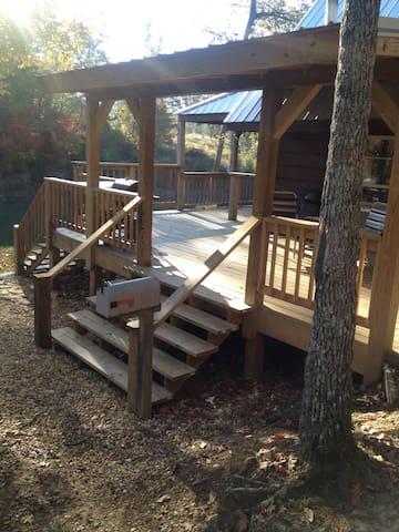Gorgeous Log Cabin Retreat! Romantic! Peaceful! - Rome  - Chatka