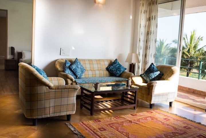 Pansy - D5 - 2 bedroom apartment at Varca Goa - Varca - Lägenhet