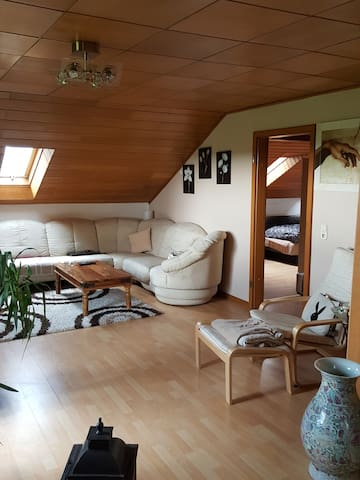Ruhige Wohnung am Feld - Bergheim - Departamento