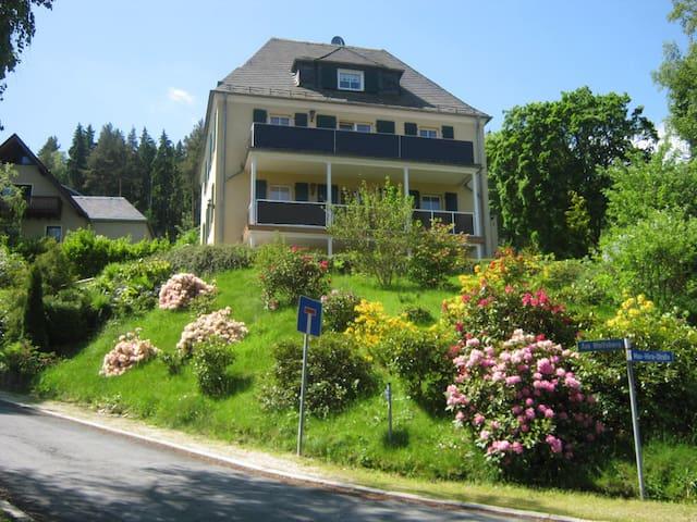 Villa Goldbrunnen (Ferienwohnung 3) - Bad Elster - Apartamento