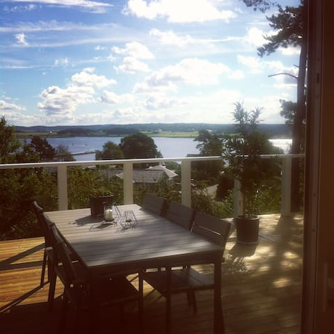 Beautiful house with amazing view! - Kungsbacka V - Talo