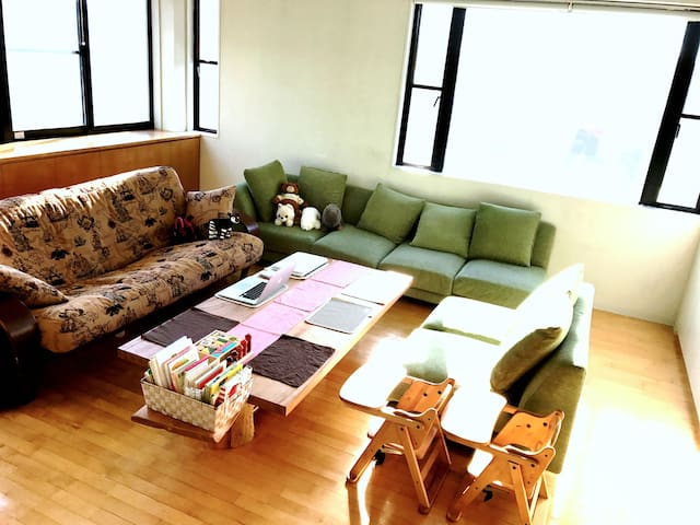 【Free Parking!!】Relaxable big bath in homish house - Machida-shi - Dom