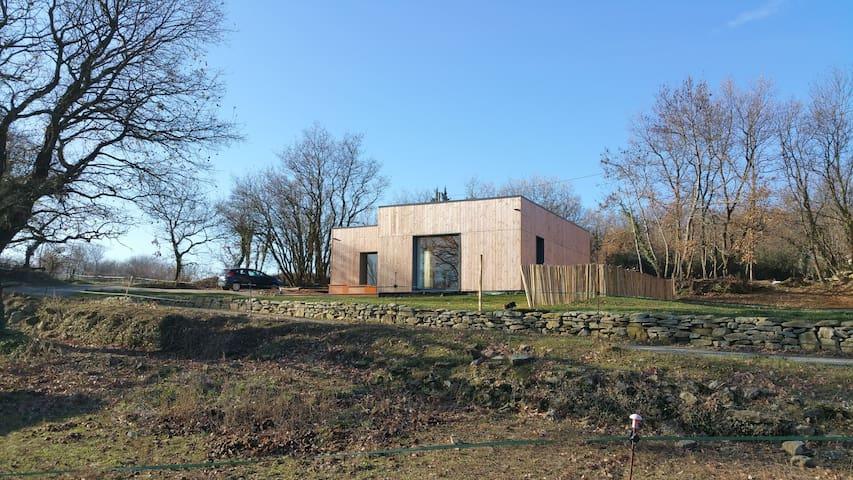 Bois de Garance, gîte d'architecte bioclimatique - Soyans - Casa
