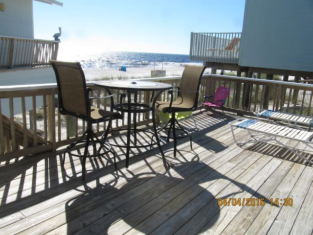 Beach front Cottage,  4817 Spyglass Dr. PC Bch, FL - Panama City - Hús