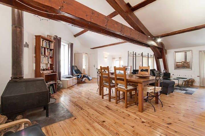 """private """"loft"""" studio - Lagrasse - Appartement"""