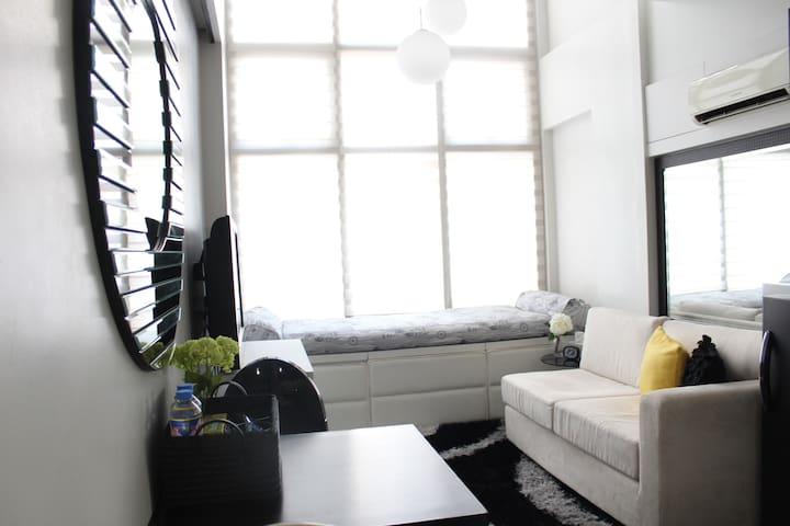 Cozy loft in Ortigas Center - Pasig - Kondominium
