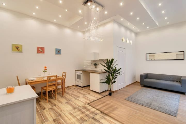 New and clean apartment close to Central park - Budapest - Departamento