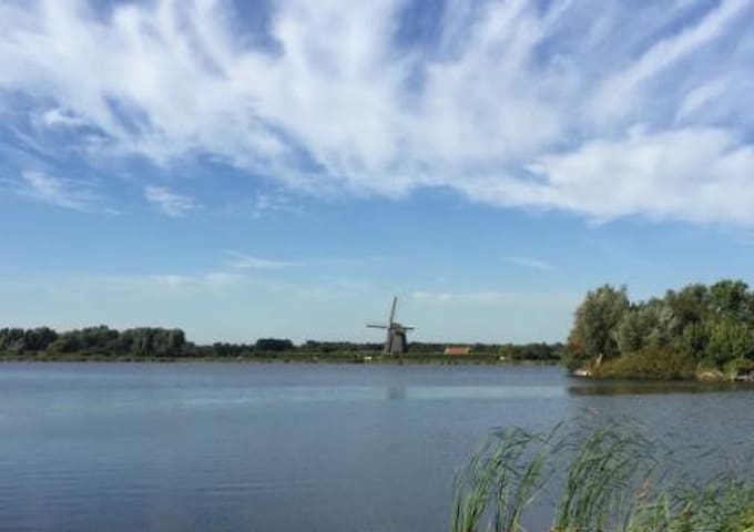 House near Amsterdam on a beautiful location - Landsmeer - Talo