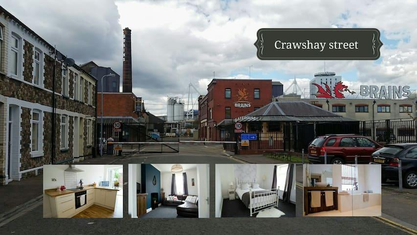City Centre. Large luxury 3 bedroom - Cardiff