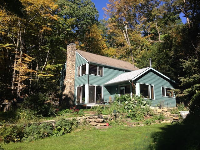 Historic wooded 3BD 1 hour from NYC - Pound Ridge - Maison