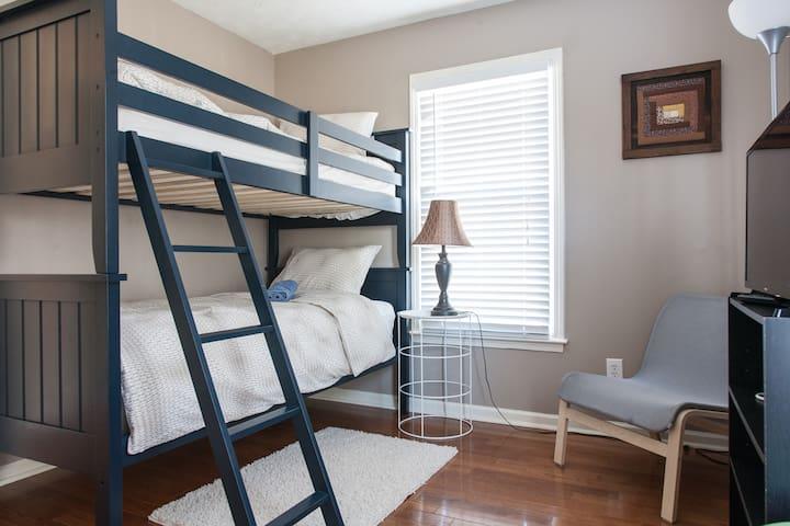 Bunkbed room - Lawrenceville - Huis