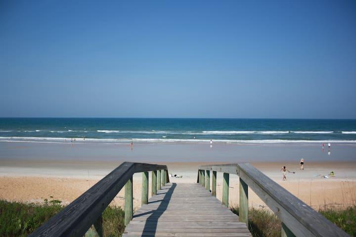 On the Beach Rental , Oceanfront, Flagler Beach - Flagler Beach