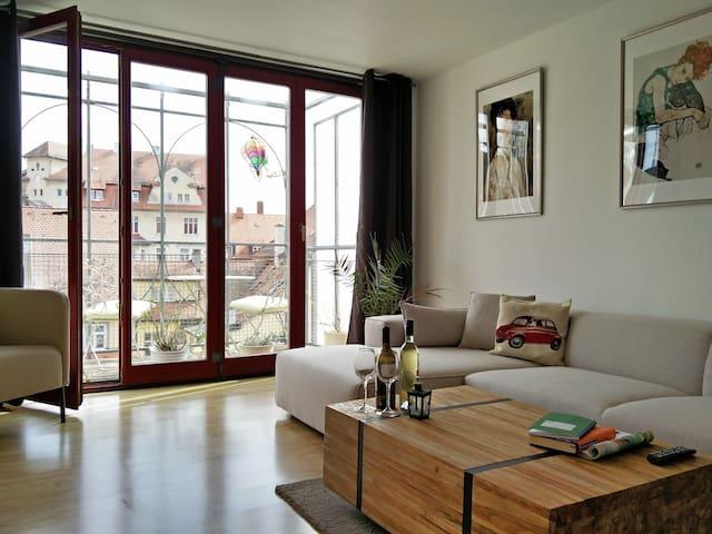 Sonnige Wohnung in Bamberger Altstadt - Bamberg - Appartement