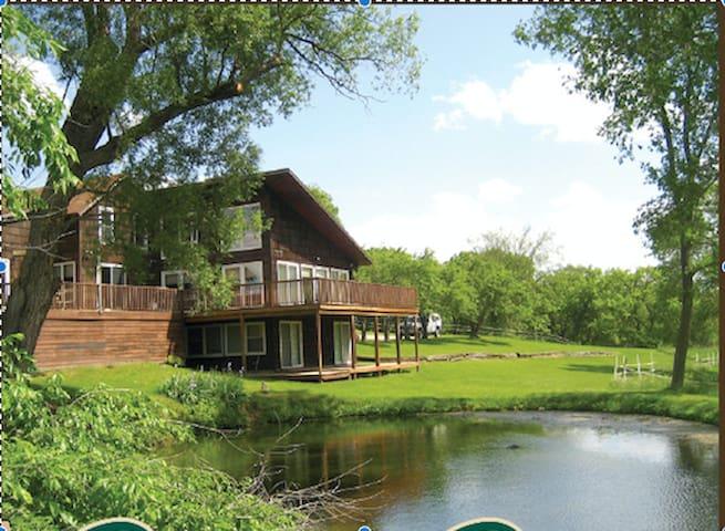 Canoe Creek Lodge - Decorah - Doğa içinde pansiyon