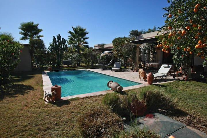 (107) SUPERBE  VILLA  AVEC  PISCINE  PRIVEE - Agadir - Casa